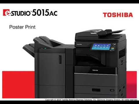 Poster Print e STUDIO5015AC Video